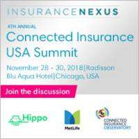 logo Connected Insurance USA Summit, 2018, Chicago, USA