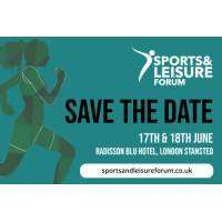logo Sports and Leisure Forum London June 2019