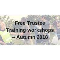 logo Free Trustee Training Workshops - Autumn 2018