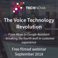 logo The Voice Technology Revolution - Filmed Webinar