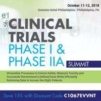 logo 5th Clinical Trials Phase I and Phase IIA Summit
