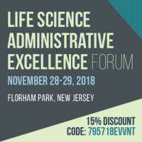 logo Life Science Administrative Excellence Forum