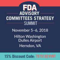 logo FDA Advisory Committees Strategy Summit