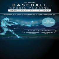 logo 3rd Annual Baseball Sports Medicine: Game Changing Concepts
