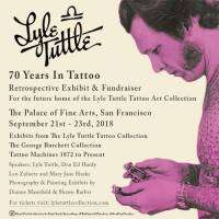 logo Lyle Tuttle - 70 Years in Tattooing Retrospective Exhibit