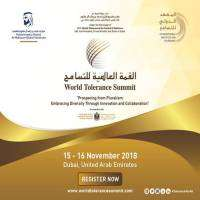 logo World Tolerance Summit, Dubai 2018