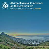 logo African Regional Conference on the Environment, November 2018, Cape Town