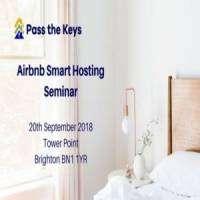 logo Airbnb Smart Hosting Seminar - Brighton