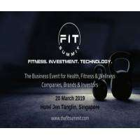 logo FIT Summit - Connecting Health, Fitness, Wellness, Technology & Investors