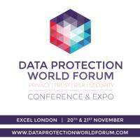 logo Data Protection World Forum Conference and Expo at ExCeL, London