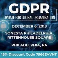 logo GDPR Update for Global Organization
