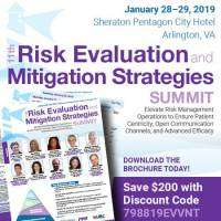 logo 11th Risk Evaluation and Mitigation Strategies Summit