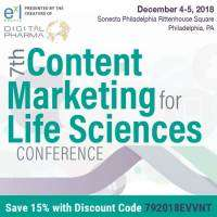 logo 7th Content Marketing for Life Sciences Conference