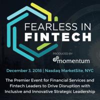logo Fearless in FinTech   New York City, 2018