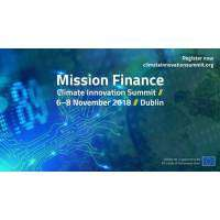 logo Climate Innovation Summit - Mission Finance, Dublin 2018