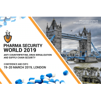 logo PHARMA SECURITY WORLD 2019