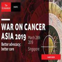 logo War on Cancer Asia 2019: Better advocacy, better care (Mar 28th, Singapore)