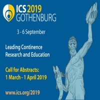 logo ICS 2019: 49th Annual Meeting of the International Continence Society