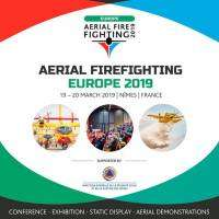 logo Aerial Firefighting Europe 2019 | 19 - 20 March, Nimes, France