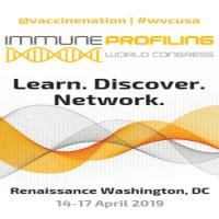 logo Immune Profiling World Congress, 14-17 April 2019, Washington DC