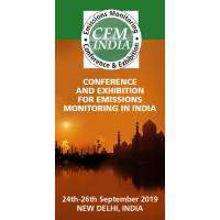 logo CEM India Emission Monitoring 24-26th September 2019 Delhi India