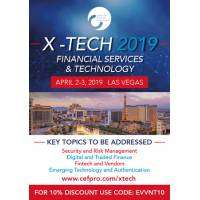 logo X-Tech 2019: Financial Services and Technology | Convention | Vegas | April 2