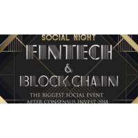 logo 2018 Fintech and Blockchain Social Night NYC