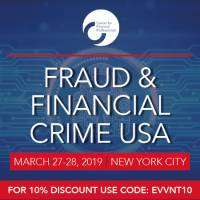 logo Fraud and Financial Crime USA 2019 | March 27-28, 2019 | New York City
