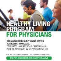 logo Healthy Living Program for Physicians - Jan, Mar, Jun, Aug and Oct Dates!