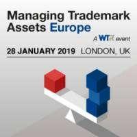 logo Managing Trademark Assets Europe 2019, 28 January 2019, London, UK