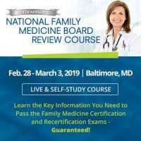 logo National Family Medicine Board Review 2019