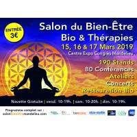 logo Salon Du Bien-être, Bio & Thérapies - Mandelieu