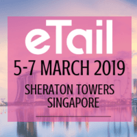 logo eTail Conference in Singapore, Asia - 5 - 7 March 2019