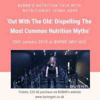 logo Nutritionist Jenna Hope: unravel thr truth behind common myths - SPIN BIKE