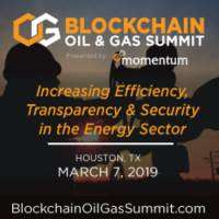 logo Blockchain Oil And Gas Summit - Houston, TX - March 7, 2019