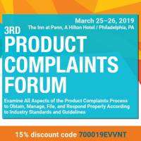 logo 3rd Product Complaints Forum