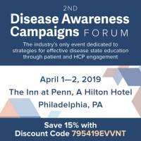 logo 2nd Disease Awareness Campaigns Forum