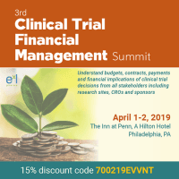 logo 3rd Clinical Trial Financial Management Summit