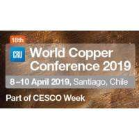 logo CRU World Copper Conference 2019