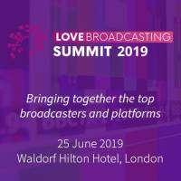 logo LOVE Broadcasting Summit 2019 in London - June 2019