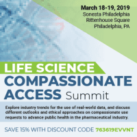 logo Life Science Compassionate Access Summit
