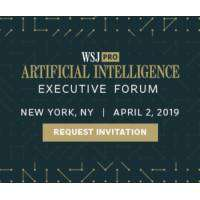 logo Wall Street Journal Pro Artificial Intelligence Executive Forum, NYC 2019