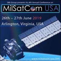 logo MilSatCom USA 2019