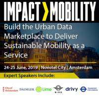 logo IMPACT>MOBILITY, 24-25 June 2019, Amsterdam, The Netherlands