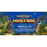 logo Minefaire: Official MINECRAFT Community Event (Dallas, TX) - March 2019