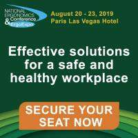 logo National Ergonomics Conference and ErgoExpo - August 2019 - Paris Las Vegas