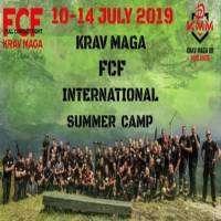 logo Krav Maga FCF Summer Camp with Dariusz Walus and Bartosz Zukowski