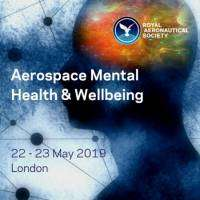 logo Aerospace Mental Health and Wellbeing Conference RAeS London - 22/23 May 2019