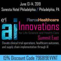 logo AI Innovations for Life Science and Health Care Summit East