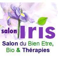 logo Iris, Salon du Bien-être, Bio & Thérapies Lyon